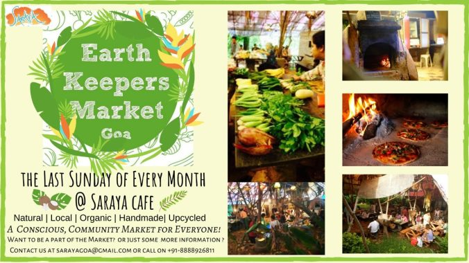 Earth Keepers Market at Saraya, Goa