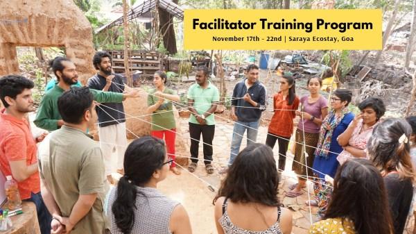 Facilitator Training Program at saraya, goa
