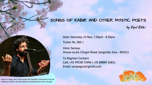 Kabir Songs Event